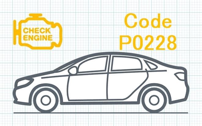 """Код ошибки P0228 – высокий уровень сигнала в цепи датчика """"C"""" положения дроссельной заслонки либо педали акселератора"""
