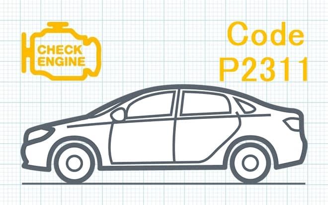 """Код ошибки P2311 – неисправность вторичной цепи катушки зажигания """"D"""""""