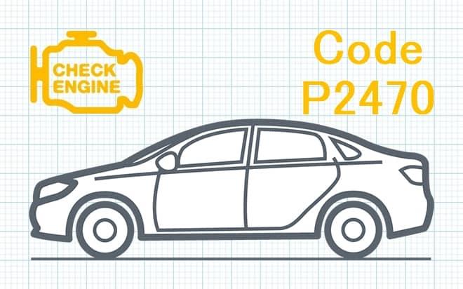Код ошибки P2470 – низкий уровень сигнала в цепи датчика температуры отработавших газов (Банк 1 Датчик 4)